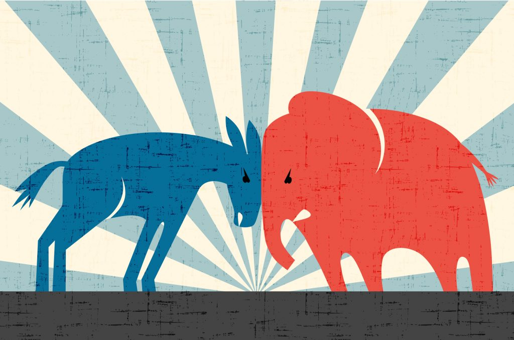 2020美國總統大選民主黨與共和黨